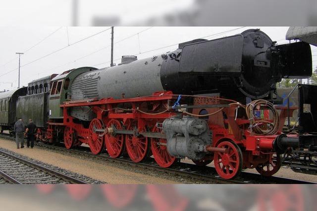 Lok 41073 jetzt in Heilbronn