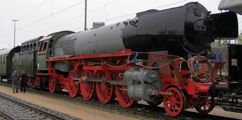 Zusammengesetzt und reisefertig &#8211...73 vor der großen Fahrt nach Heilbronn  | Foto: PRIVAT