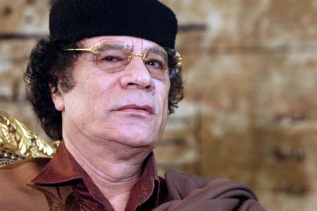 Gaddafi und zwei seiner Söhne tot