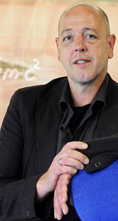 Joachim Diensberg wird heute als neuer...in Landwasser in sein Amt eingeführt.   | Foto: Thomas Kunz