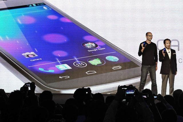 Die jüngste Android-Version soll hübscher aussehen