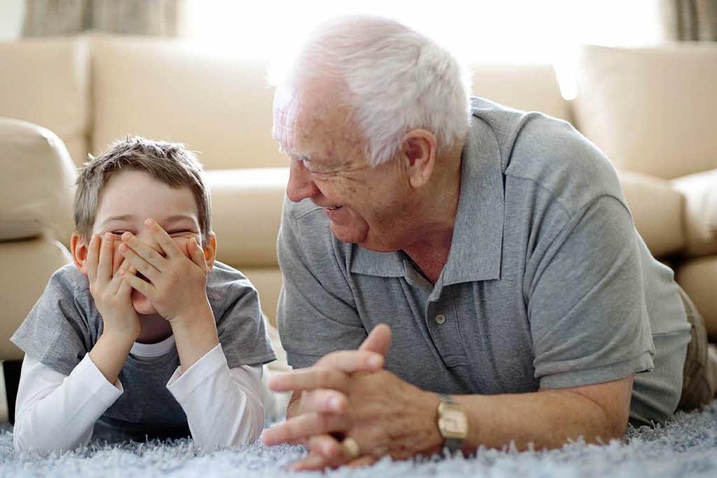 Brief Von Opa An Enkel : Wenn opa und enkel unter familienproblemen leiden liebe