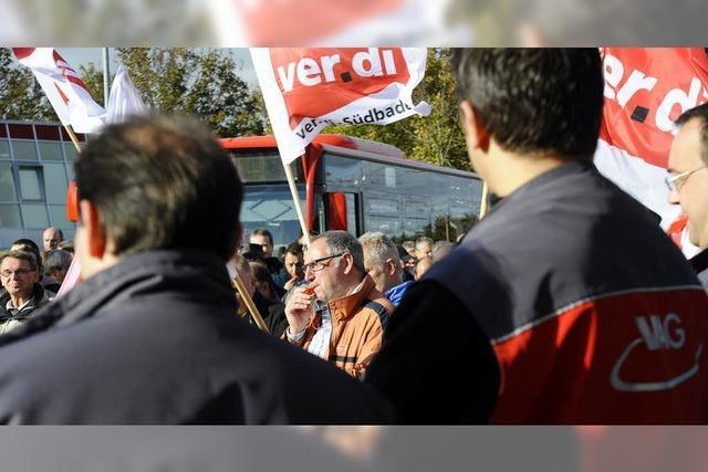 Verdi legt Verkehrs-AG den ganzen Mittwoch lahm
