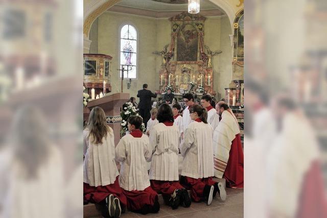 St. Ursula wird gefeiert