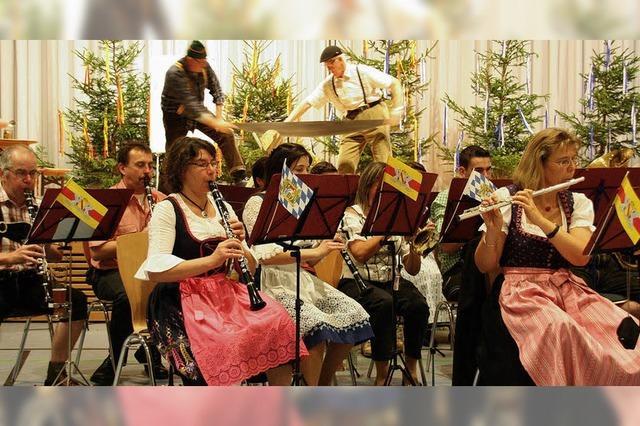 Gaudi beim Musik-Stadl