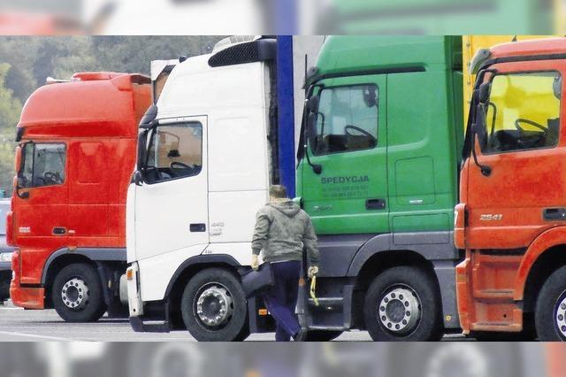 Starker Franken schwächt Schweizer Lastwagenverkehr