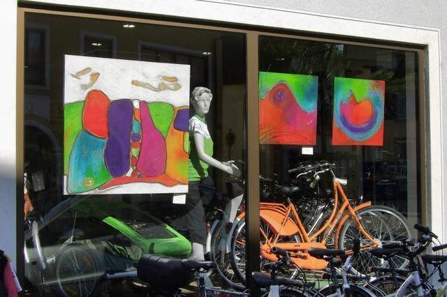 Kunst soll in die Schaufenster