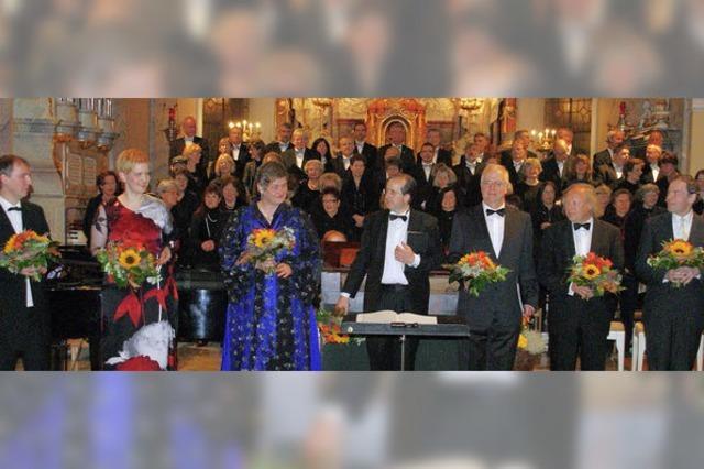 Großes Konzert für eine kleine Messe