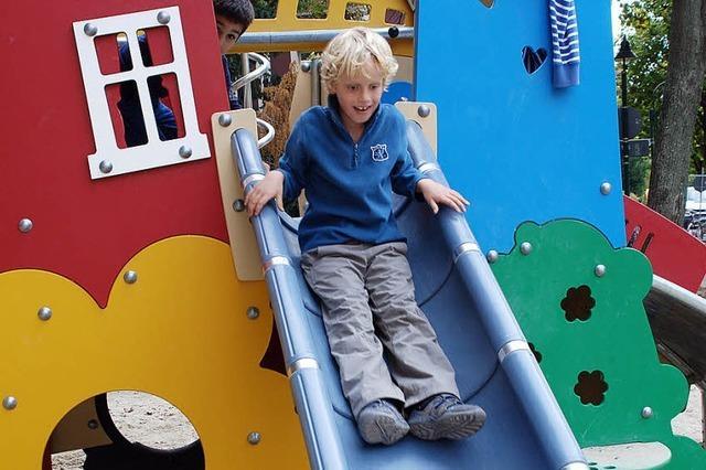 Mehr Geld für die 107 Kinderspielplätze