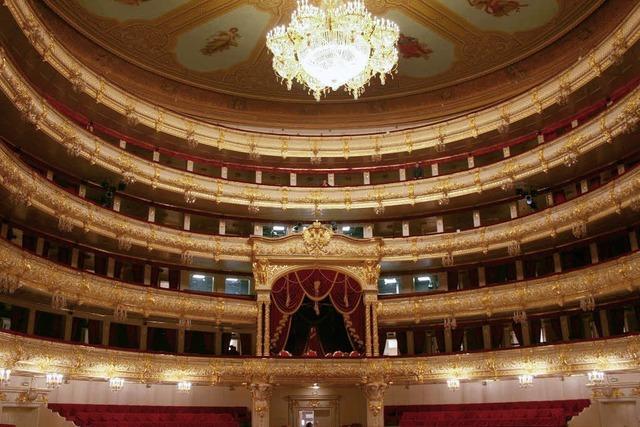 Bolschoi-Theater in Moskau: Pomp wie bei den Romanows