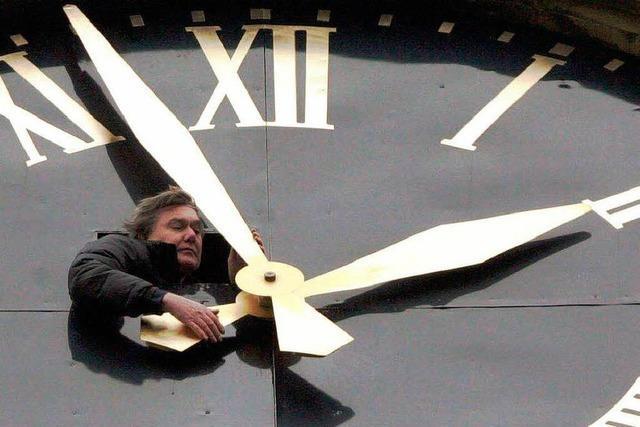 Bald ticken die Uhren Winterzeit