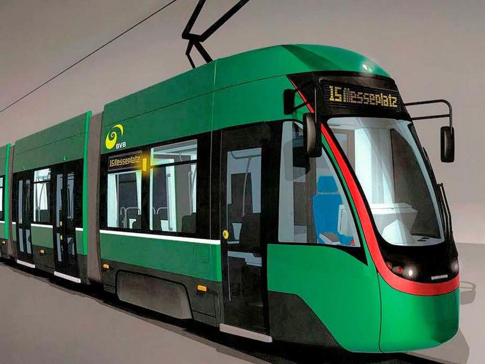 """Flexity""-Tram aus Kanada.  | Foto: BVB"