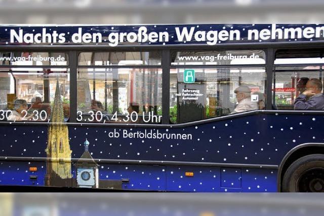 400 Nachtschwärmer nutzen das Safer Traffic Nachttaxi