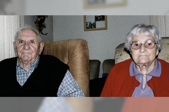 Zwei, die heute gemeinsam 90. Geburtstag feiern