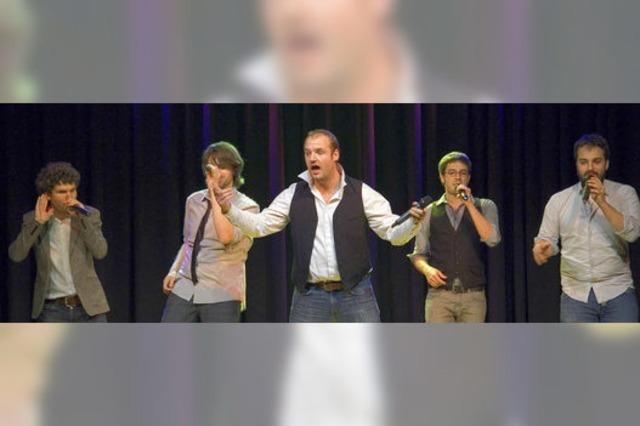 Mitreißender A-cappella-Comedy-Pop