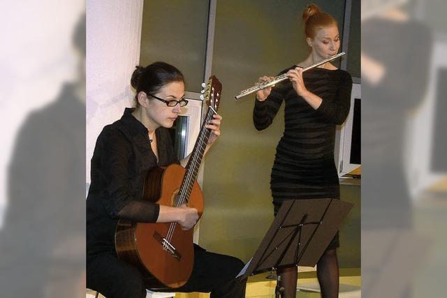 Duo harmoniert in zwei Stilrichtungen
