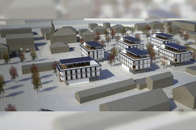 Vision vom neuen Bahnhofsquartier