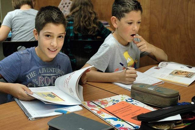 Schüler animieren Schüler zum Lesen