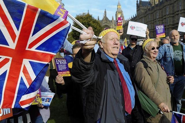 Britisches Unterhaus lehnt das Referendum zum EU-Austritt ab