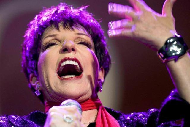 Liza Minnelli in Basel: Bestes altes Showbiz