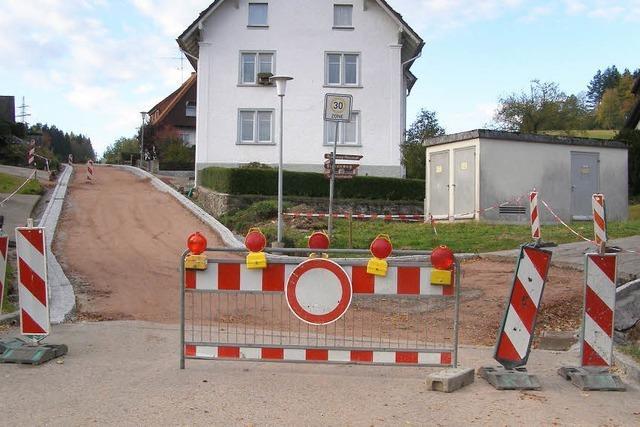 Streit stoppt Straßenbau