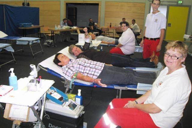 Hartheimer lassen Blut