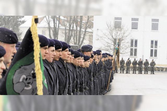 Die Bundeswehr stockt auf