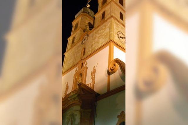 Neue Scheinwerfer sollen Münster erstrahlen lassen