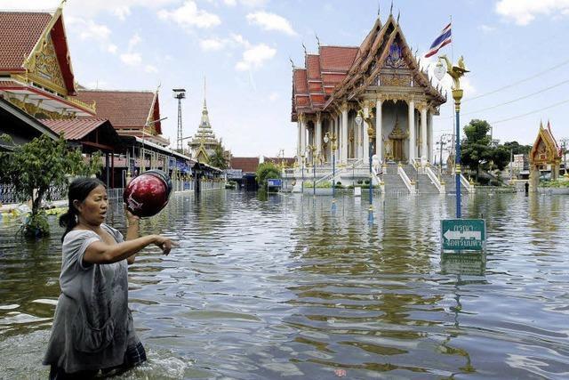 Auf der Flucht aus Bangkok