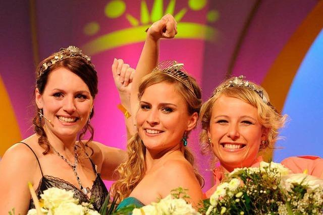Wahl zur Deutschen Weinkönigin 2013 in Offenburg