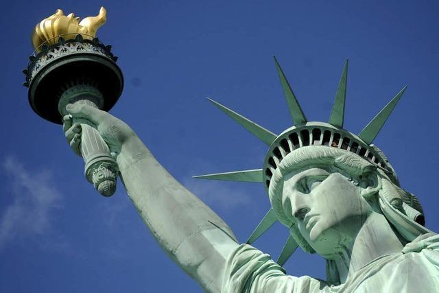 Die Freiheitsstatue feiert 125. Geburtstag