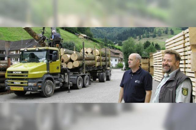 Gutes Jahr für die Forstwirtschaft