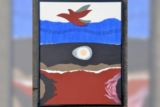 Vogel, Ei und ein Haiku