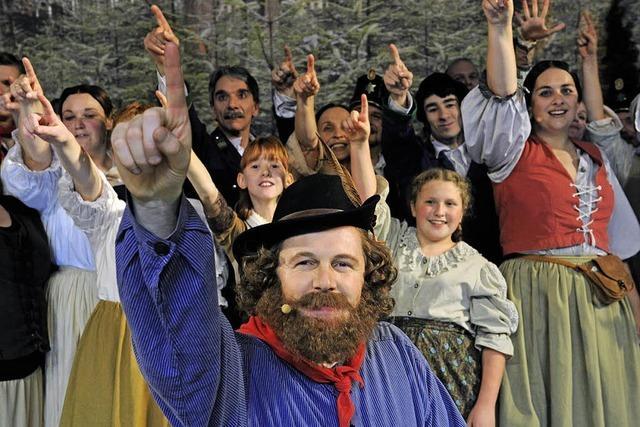 In Triberg singt und tanzt die badische Revolution