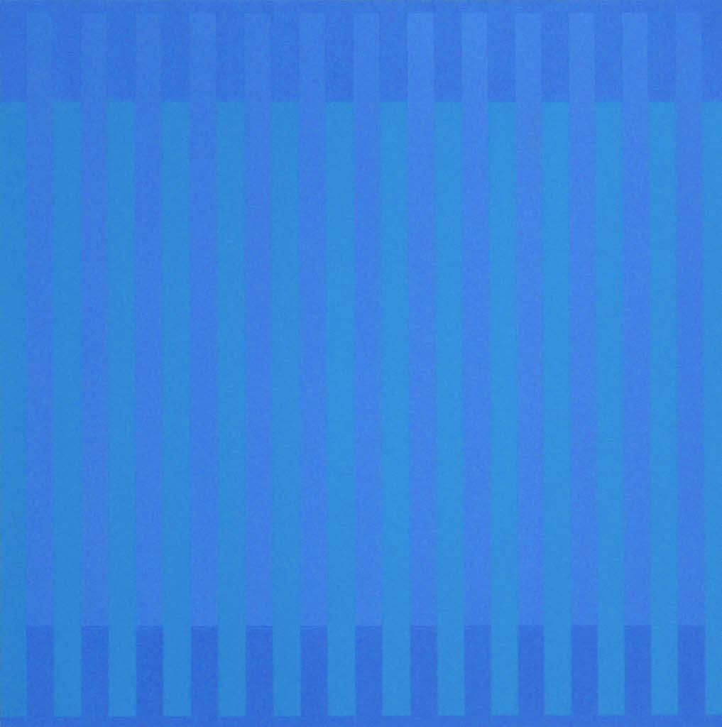 Blautöne Farbpalette: Die Form Bereitet Der Farbe Eine Bühne