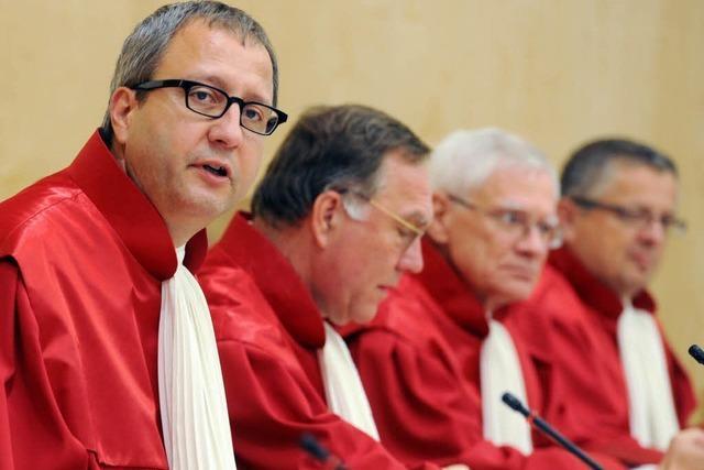 Verfassungsgericht stoppt Sondergremium für Euro-Rettungsschirm
