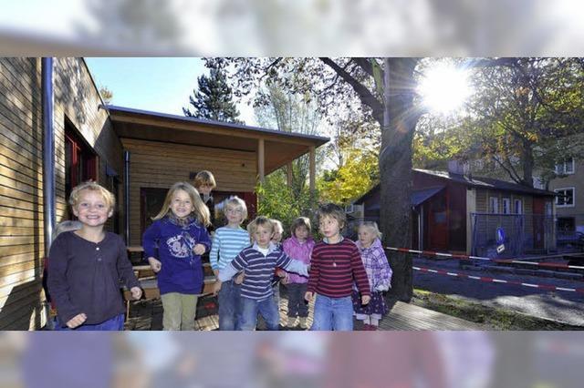 Neue Kindertagesstätte in der Urachstraße eröffnet