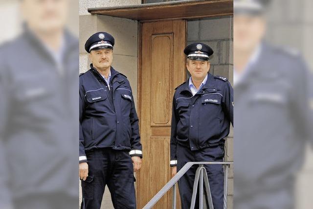 Die Polizei packt ein