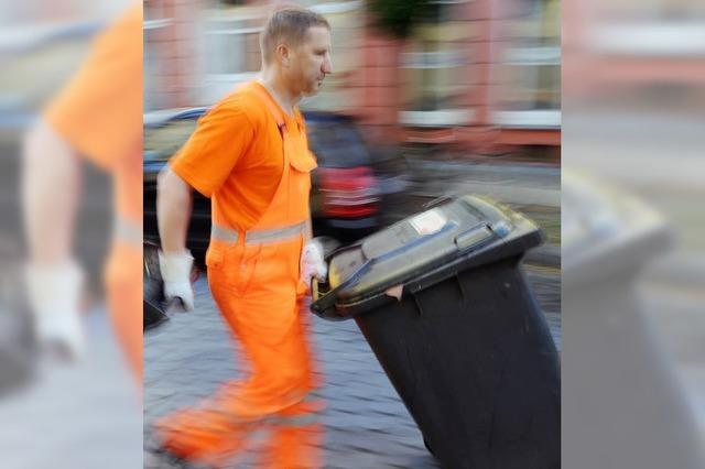 Müllgebühren im Landkreis sinken um 10 Protent