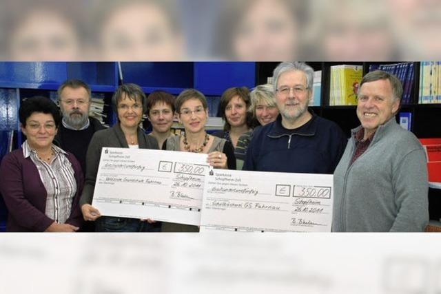 Eltern spenden 700 Euro