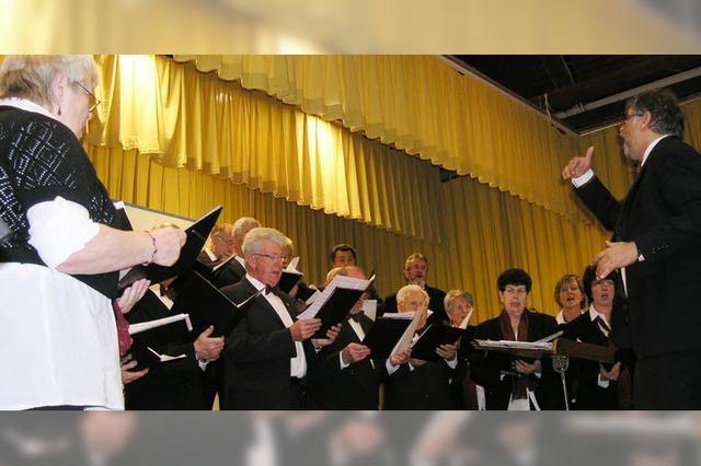 Sängertreffen mit einem breiten Klangspektrum