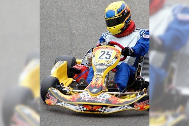 Erfolgreiche Kart-Saison für Tobias Schmidt