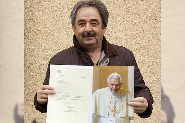 RHEINGEFLÜSTER: Sogar der Papst wünscht Traber alles Gute