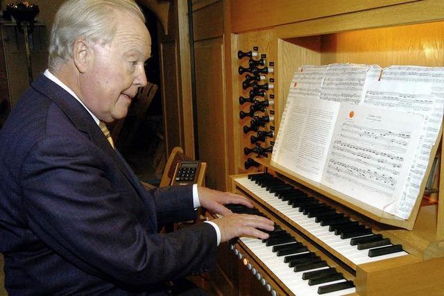 Orgel und Oboe: -