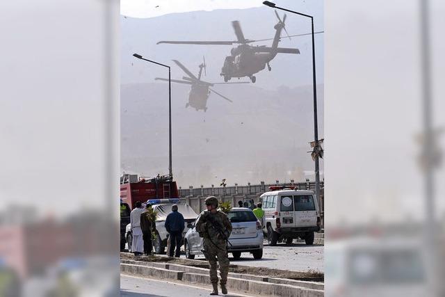13 Soldaten sterben bei Anschlag in Kabul
