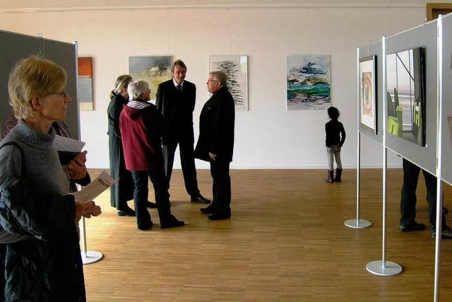 Kunstausstellung im Bürgerhaus
