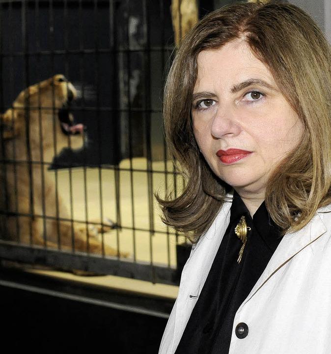 Löwenbändigerin: Sibylle Lewitscharoff   | Foto: Susanne Schleyer