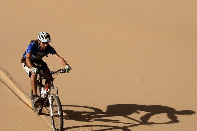 Die Wüste Sinai: Einfach durchhaxeln