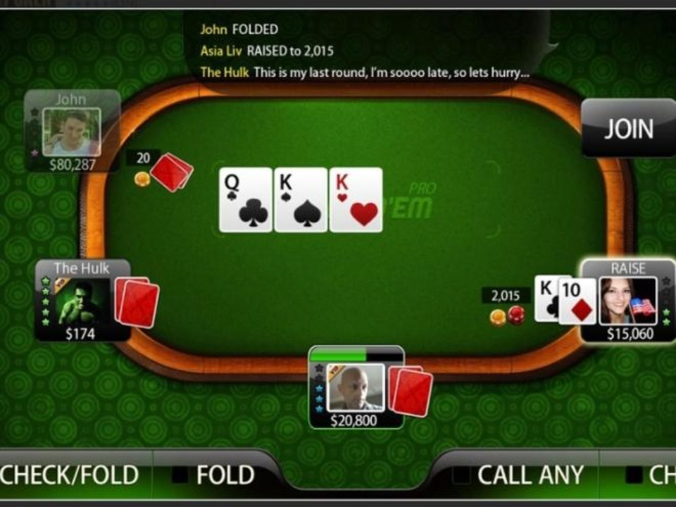 Platz 7: Live Holdem Poker Pro - Bevor...Shootout wer die stärkeren Nerven hat.  | Foto: IDG