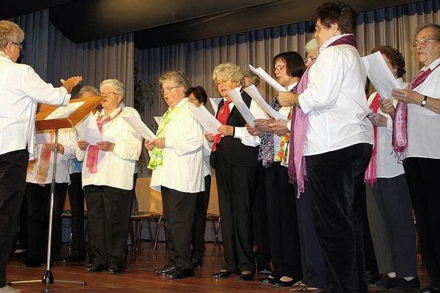 Bürgermeister-Cuvée beim Seniorennachmittag